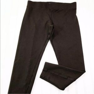 Ann Taylor Womens size M Leggings Cropped Brown